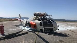 Erro de piloto na origem da queda de helicóptero na Pampilhosa da Serra