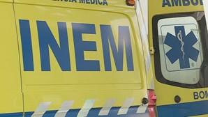Acidente com pesado fez um ferido em Estremoz