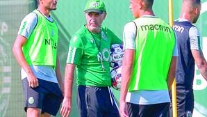Novidades na estreia de Leonel Pontes no Sporting
