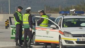 GNR caça quase 16 mil condutores sem cinto de segurança em oito meses