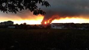 Mais de 1700 operacionais combatem 13 fogos ativos em Portugal