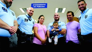 """""""Polícias salvaram o meu filho da morte"""": Família agradece após desespero"""