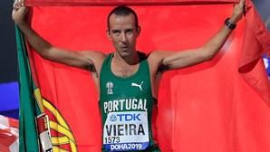 João Vieira conquista prata nos 50 km marcha dos Mundiais de Atletismo