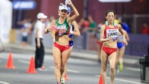 Inês Henriques desfaleceu e precisou de assistência médica nos Mundiais de Atletismo