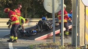 Homem de 54 anos morre em acidente de mota na EN13 em Vila Praia de Âncora