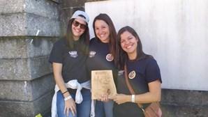 """""""É um orgulho"""": Equipa feminina de Algueirão-Mem Martins alcança primeiro lugar na prova Bombeiro de Elite"""