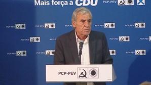 Jerónimo de Sousa quer evitar a maioria absoluta do PS
