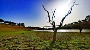 Seca severa reduz água nas barragens