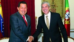 Contratos feitos com Chávez durante Governo de Sócrates sob suspeita