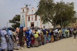 Peregrinos portugueses celebram 'Mamã Muxima' com 'povo irmão' de Angola