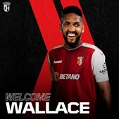 Central Wallace é reforço do Sporting de Braga