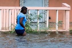 Bahamas após passagem do furacão Dorian