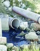Águas sujas e com dejetos foram lançadas no areal