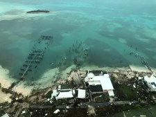 Devastação causada pelo furacão Dorian nas ilhas Ábaco