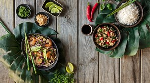 Na rubrica 'Em Viagem', o destino é a Tailândia, onde os ingredientes frescos e coloridos reinam nos pratos