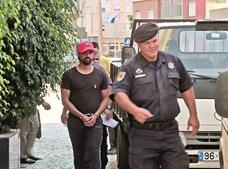 Fábio Paím foi levado da cadeia onde está detido até à PSP de Setúbal, onde prestou depoimento aos agentes policiais