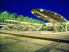Estação do Oriente, em Lisboa