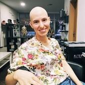 Joana, bloguer dos 'HoneyMooners' rapou o cabelo na luta contra o cancro