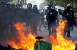 Manifestações em Paris