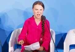 Greta Thunberg acusa líderes mundiais