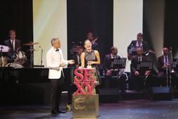 Fernanda Serrano venceu na categoria Sexy TV