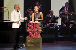 Fernanda Serrano foi a vencedora do prémio Sexy TV