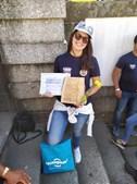 Susana Martins conquistou o terceiro lugar do escalão Seniores 1