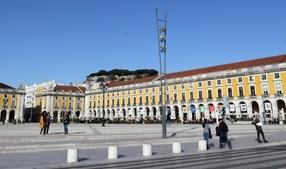 Terreiro do Paço, em Lisboa