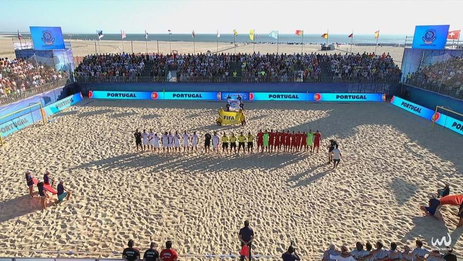 Portugal defronta Turquia em futebol de praia na Figueira da Foz