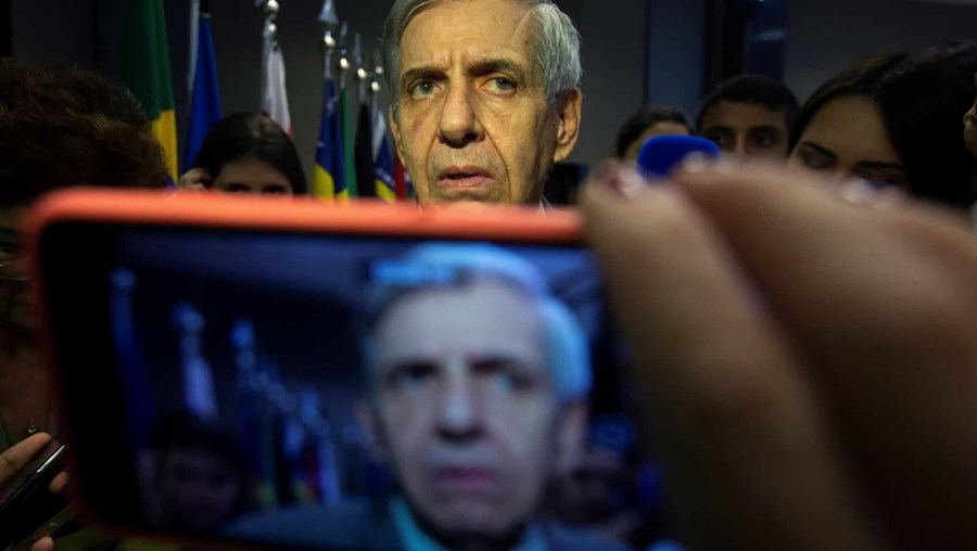 Ministro do Gabinete de Segurança Institucional brasileiro, Augusto Heleno