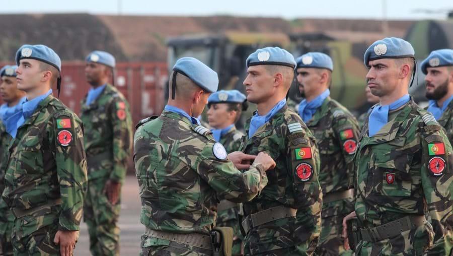 Nações Unidas distinguem militares do Exército e da Força Aérea portuguesa