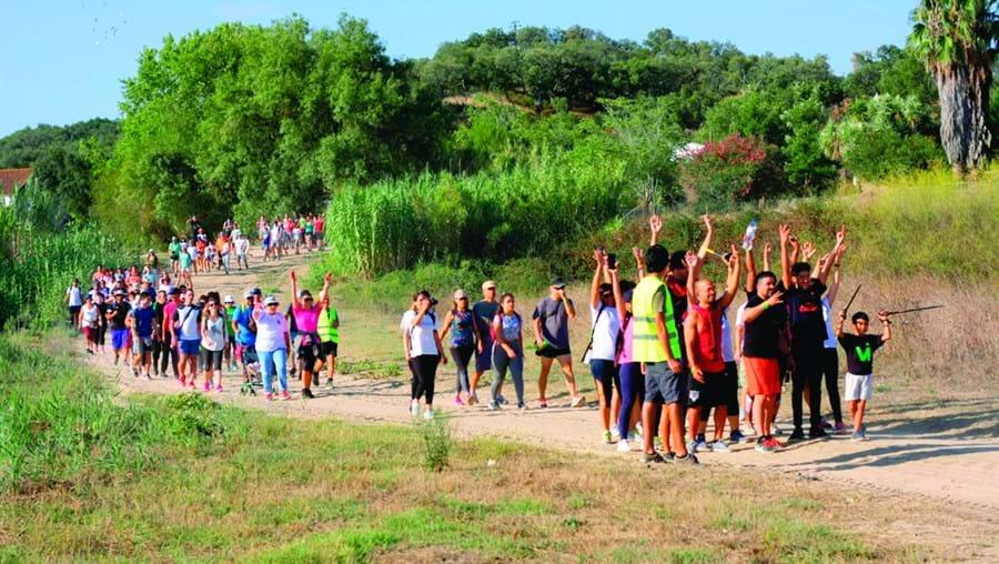 Marcha pelo rio Sorraia junta 300 pessoas