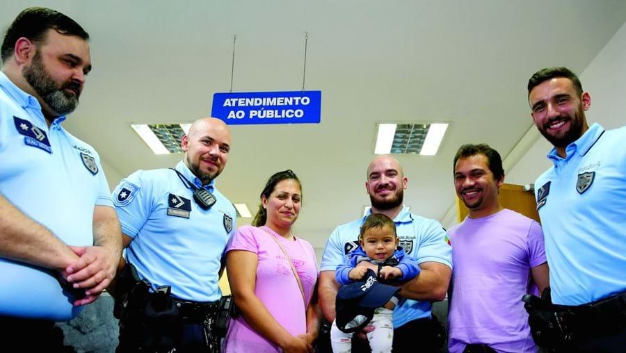 """""""Polícias salvaram o meu filho da morte"""""""