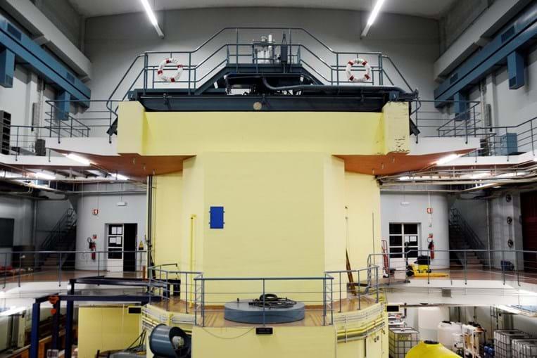Reator nuclear português, na Bobadela