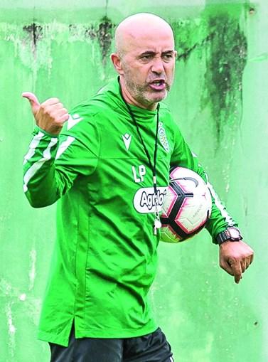 Leonel Pontes, de 47 anos, assume a equipa principal dos leões