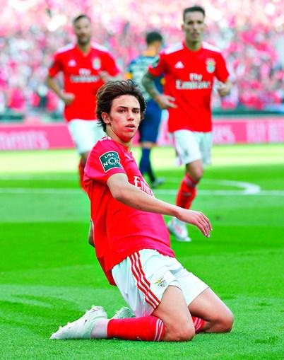 João Félix no Benfica