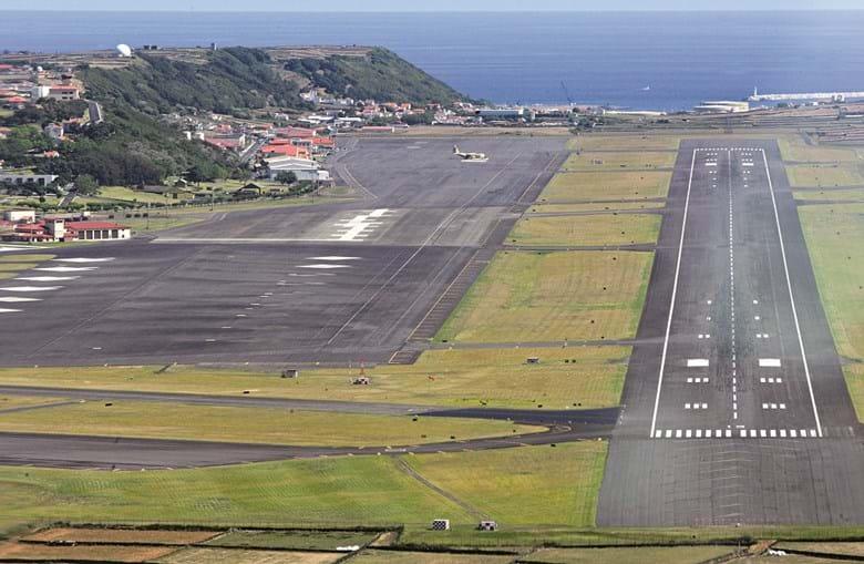 Base das Lajes, na ilha Terceira, Açores, tem uma localização estratégica desejada pela China para a instalação de um centro de negócios