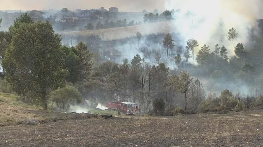 Incêndio em Valpaços