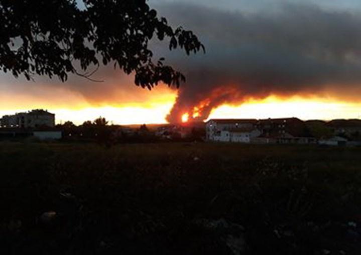Incêndio em Miranda do Corvo