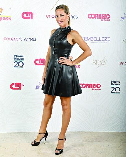 Fernanda Serrano ganhou a categoria Sexy TV