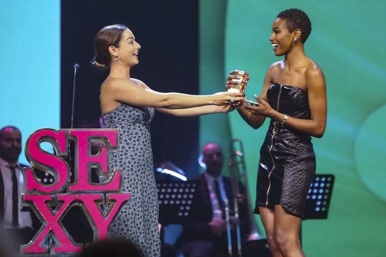 Joana Duarte venceu o prémio Sexy Net
