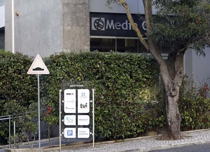 Edifício da Media Capital, grupo que detém a TVI, em Queluz de Baixo