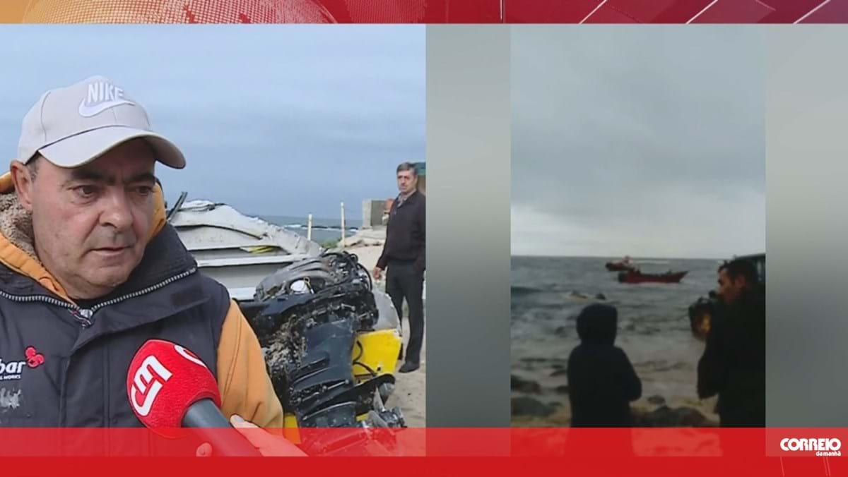 Pescadores resgatados após naufrágio em Vila do Conde - Correio da Manhã