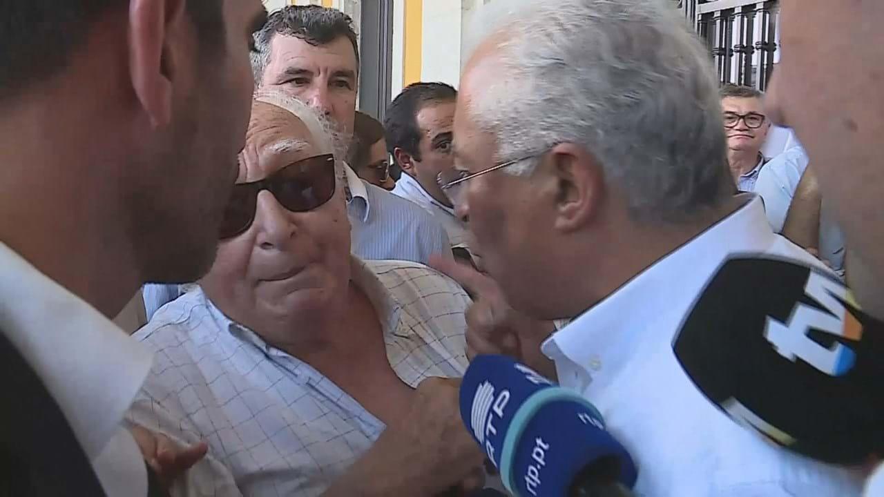 "António Costa enfurece-se durante arruada e chama ""mentiroso"" a ..."