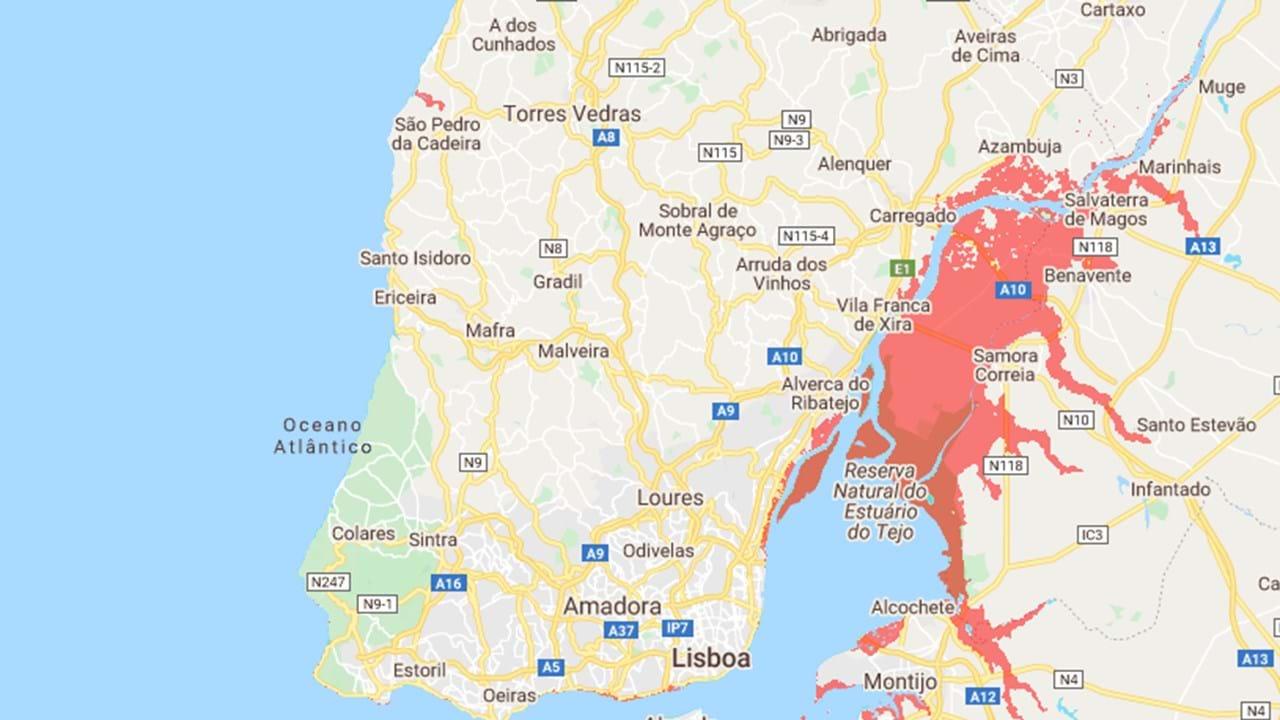 Conheca As Regioes De Portugal Em Risco Com A Subida Do Nivel Da