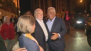 António Costa faz campanha em Coimbra com apoio de Manuel Alegre
