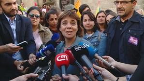 Catarina Martins diz que voto no BE é a melhor forma de impedir maioria absoluta do PS