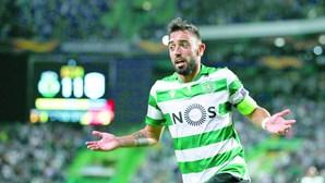 Bruno Fernandes amarrado por cláusula de 5 milhões de euros