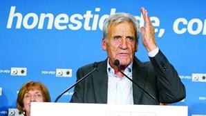 CDU com o pior resultado de sempre nas eleições legislativas