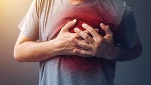 Cuidado com a dor no peito, a angina de peito e o enfarte do miocárdio